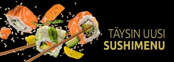 Täysin uusi sushimenu - Tang Capital